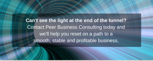 Can't see the light-peer-business-consulting