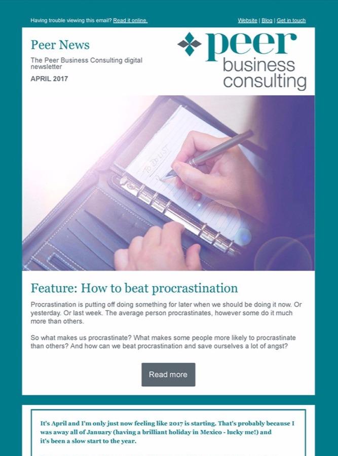 Peer News April 2017