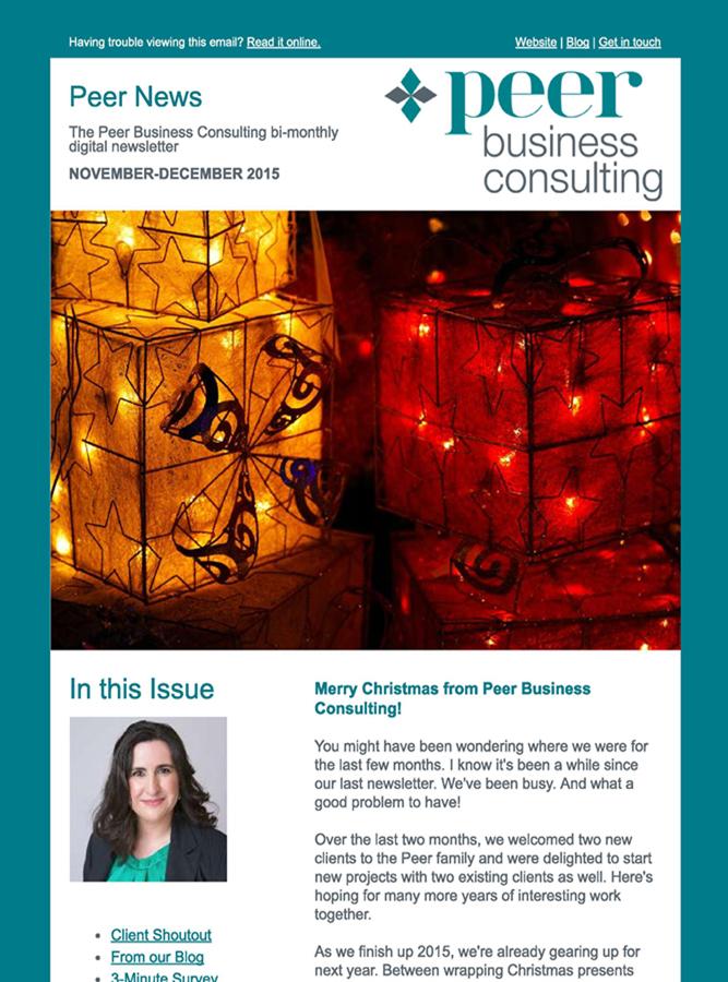 Peer News December 2015