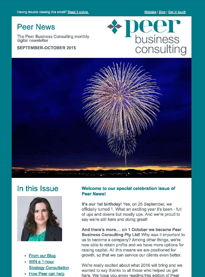 Peer News October 2015